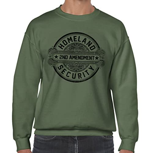 85%OFF Homeland Security 2nd Amendment Pro Gun Right to Bear Arms Sweatshirt 9ec0a7cff