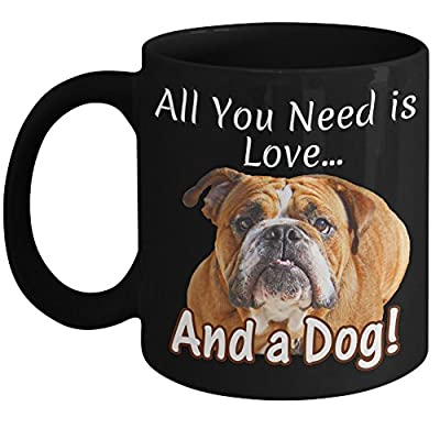 English Bulldog Coffee Mug Cup