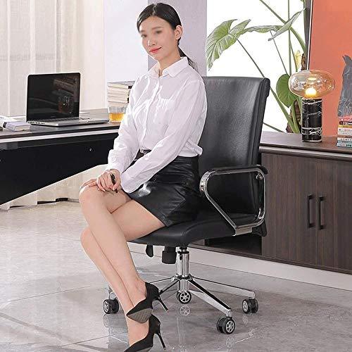 Barstolar Xiuyun svängbar stol – kontorsstol spelstol, personalstol datorstol fåtölj PU-säte verkställande justerbar höjd