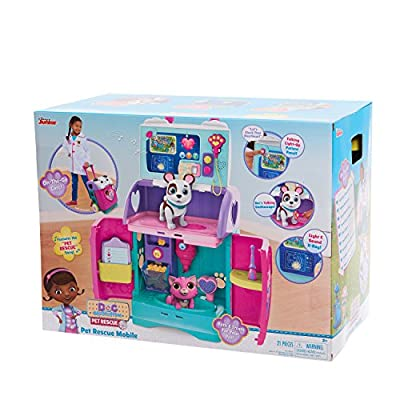 Doc McStuffins 92446 Baby All in One Nursery Pet Rescue Mobile, Multicolor: Toys & Games