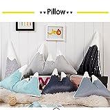 Nunubee Snow Mountain Pillows Throws Cushions Home Decor Nursery Kids Enfant