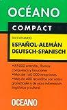 Diccionario Espanol Aleman Deutsch-Spa. Compact (Spanish Edition)