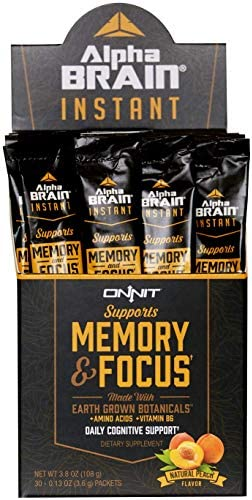 ONNIT Alpha Brain Instant 30ct product image