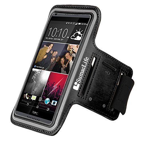 Sports Armband for HTC Desire Eye (Black) - 2