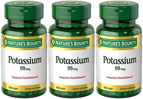 Natures Bounty Potassium Gluconate Caplets