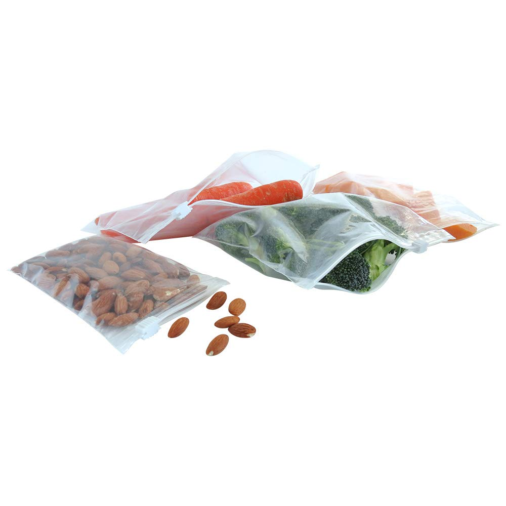 Laddawn: Carton of 250 - Resealable Plastic Ziplock Bags Airtight Odorless Non-Toxic Poly Bags 2 Gallon Slider Top Reclosable Poly Bags 12 x 15 3mil