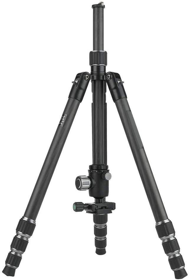 Professional Lightweight Carbon Fiber Adjustable Camera Tripod Detachable SLR Monopod with A Hook Design Thereby Increasing The Stability of The Tripod Jarchii Camera Tripod
