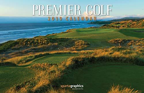 2019 Premier Golf Deluxe Wall Calendar ()