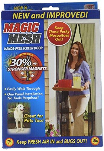 Prime Line MM011124 Magic Mesh Scr Door