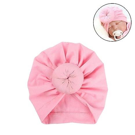 KOBWA - Gorro para bebé recién Nacido a70db5dda4d