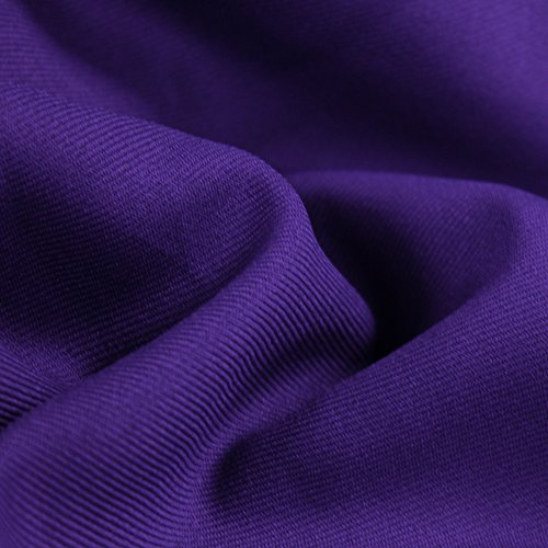 Gabardine Solid - BR-Purple Solid 60'' Poly Gabardine Fabric by the Yard