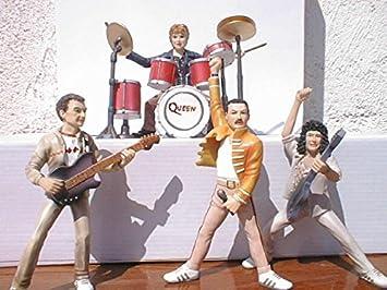 Set grupo QUEEN .figuras en resina Polystone comic 13cm altas ...