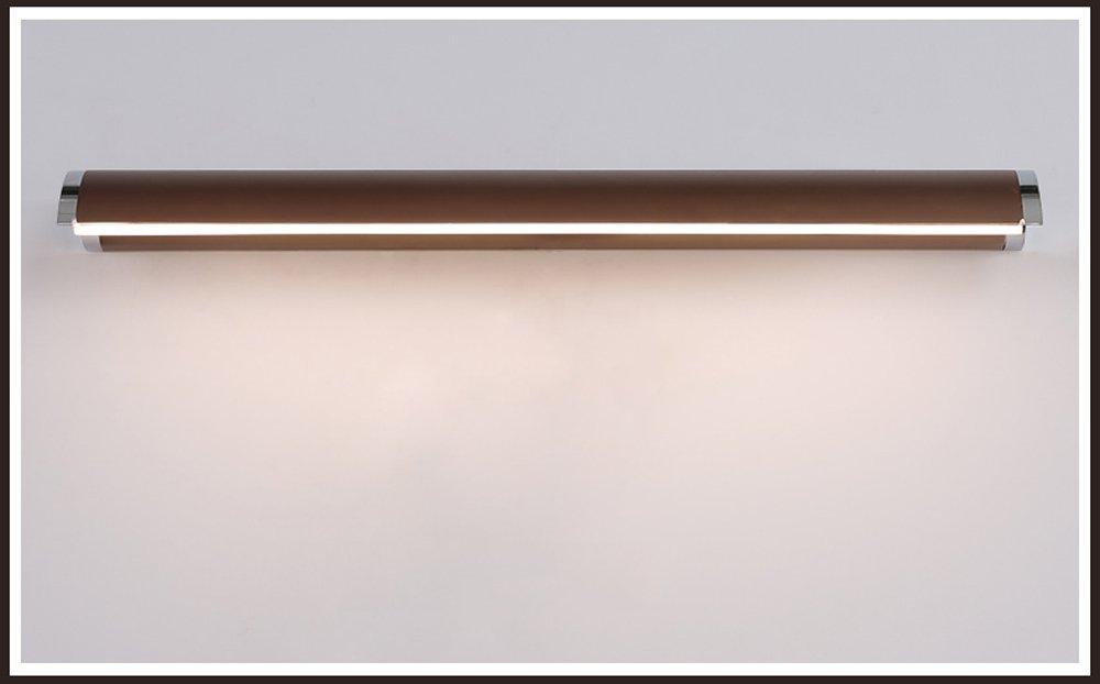 MLMHLMR Spiegelleuchte führte Moderne unbedeutende atmosphärische Spiegelbadezimmerspiegellampenwandlampe wasserdicht Spiegelscheinwerfer (Größe   43  4cm (8w))