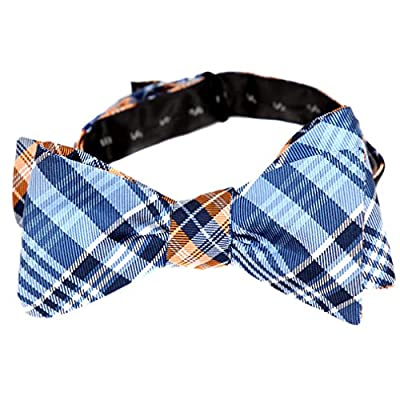 Mens Reversible 2 Sided Self Tie Bow Tie