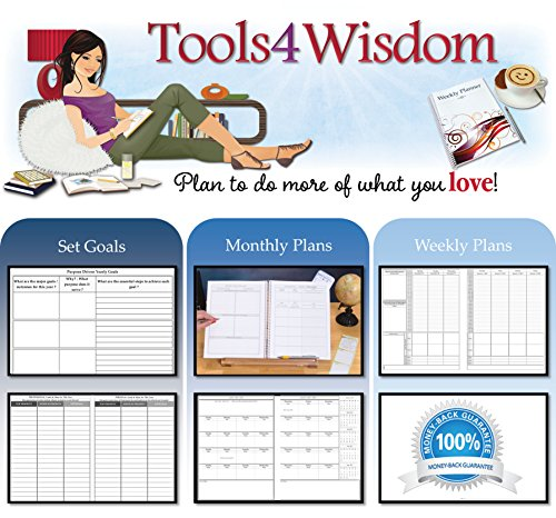 Calendar Year Goals Record : Tools wisdom monthly planner calendar yearly