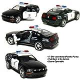 Kinsmart Ford Mustang GT Police 2006 Black