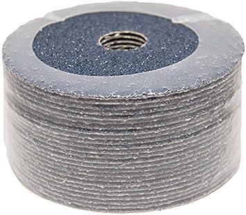 """100-7/"""" Zirconia Resin Fiber Sanding Grinding Disc 60 Grit"""
