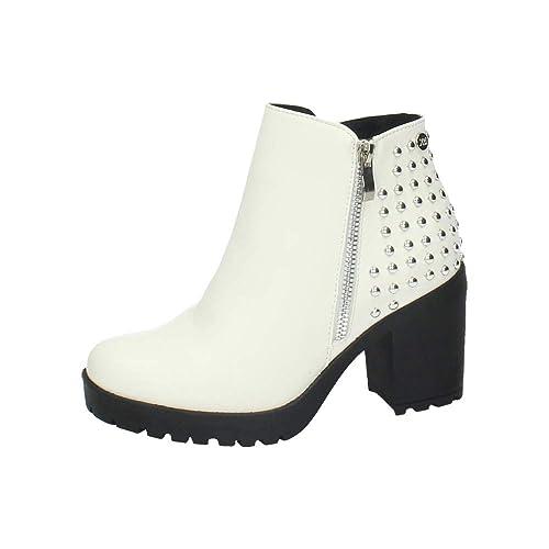 XTI 48456 BOTÍN Alto Mujer Botines Blanco 38