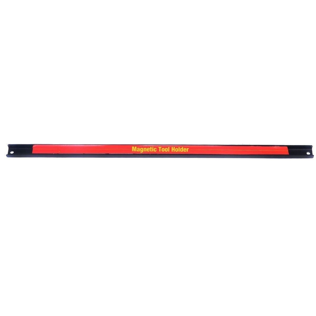 Goplus® 24'' Magnetic Tool Holder Bar Organizer Storage Rack Knife Wrench Pilers Workshop
