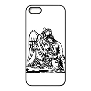 5S case,Hand Painted Angel 5S cases,5S case cover,iphone 5 case,iphone 5 cases