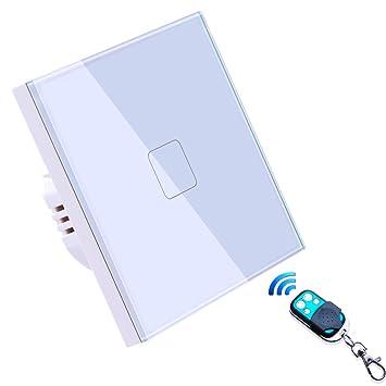 Smart Home Schalter, LED Drahtlos Fernbedienungsschalter Arbeit mit ...