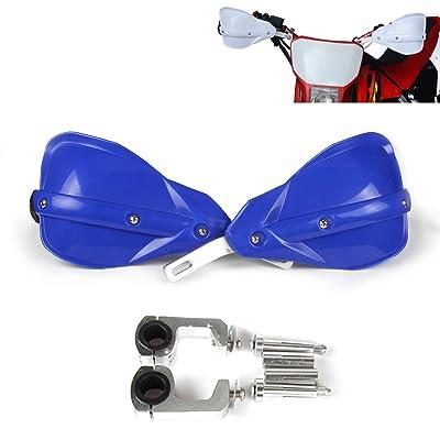 Motocross Handguards 7/8 inch and 1 1/8 inches Hand Guards For Motorcycle Yamaha YZ80 YZ85 YZ125 YZ250 YZ250F Dirt Bike MX Supermoto Racing ATV Quad KAYO (Blue): Automotive