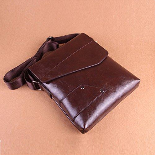 Laidaye Multi Leisure Men's Bag Travel Brown Backpack Messenger Shoulder purpose Business rwnrRqZWP