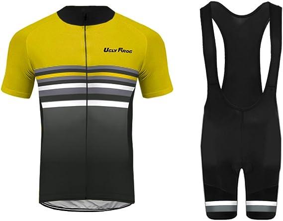 Uglyfrog Bike Wear Atmungsaktiv Trendy Herren Downhill//MTB Jersey Mountain Bike Shirt Fahrradtrikot Kurzarm Freeride BMX Top F06