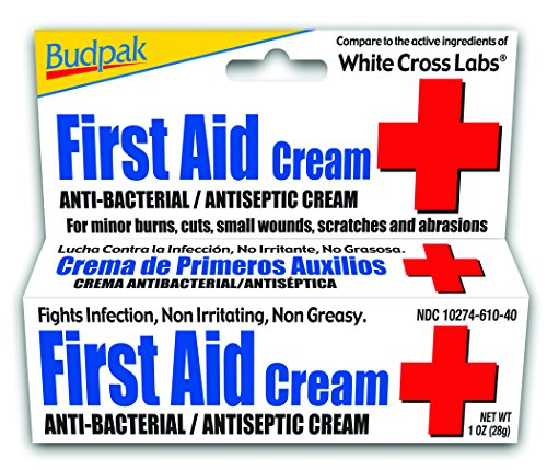Budpak First Aid Cream, 1 Ounce (Pack of 6)