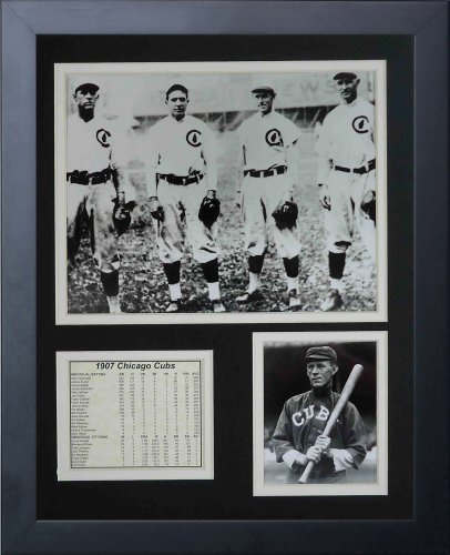 Legends Never Die 1907 Chicago Cubs Infield Framed Photo Collage, 11x14-Inch ()