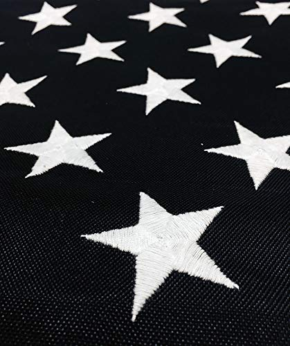 All Star Flags Heavy-Duty American Flag 4x6' - Made in USA - Durable Polyester Fabric - Embroidered Stars, Sewn Stripes, Four Rows of Lock Stitching, Commercial and High Wind Use, The Best US Flag
