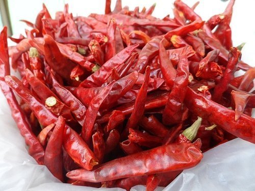 Dried Thai Chili Peppers Herbs Spices for Thai Food Recipe, Tom Yum Soup, Curry