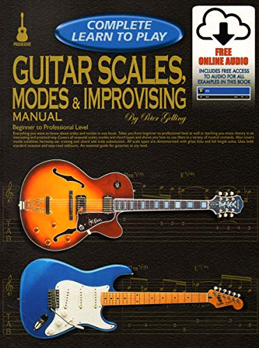 69386 - Progressive Complete Learn to Play Guitar Scales, Modes & Improvising - Book/Online Audio
