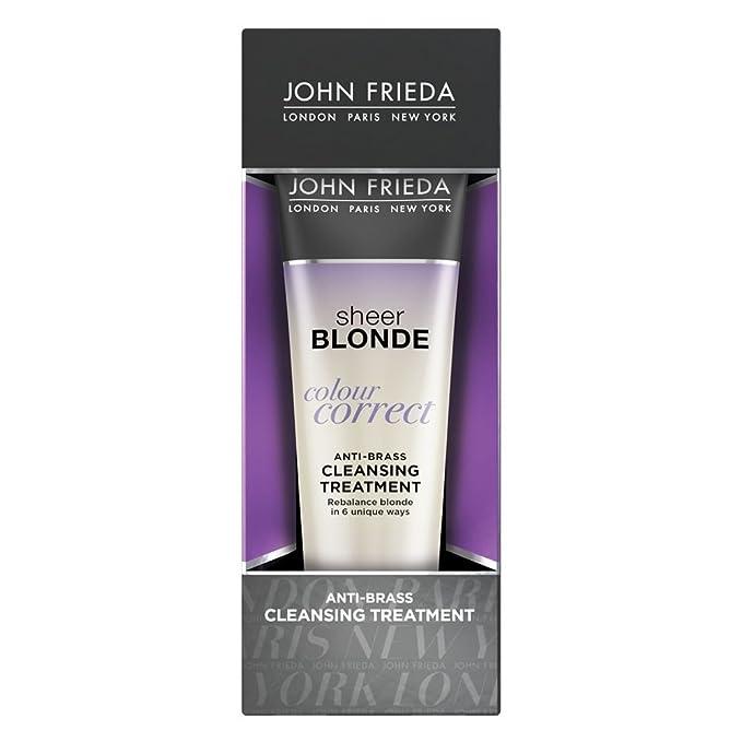 John Frieda Sheer Blonde Colour Correct Anti-Brass Cleansing Treatment