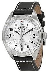 Hamilton Khaki Field White Dial SS Leather Automatic Men's Watch H70505753