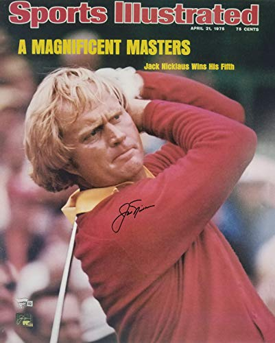 Jack Nicklaus Autographed Signed 16x20 Photo Gb Holo & FAN Coa #A126537 - Certified Signature