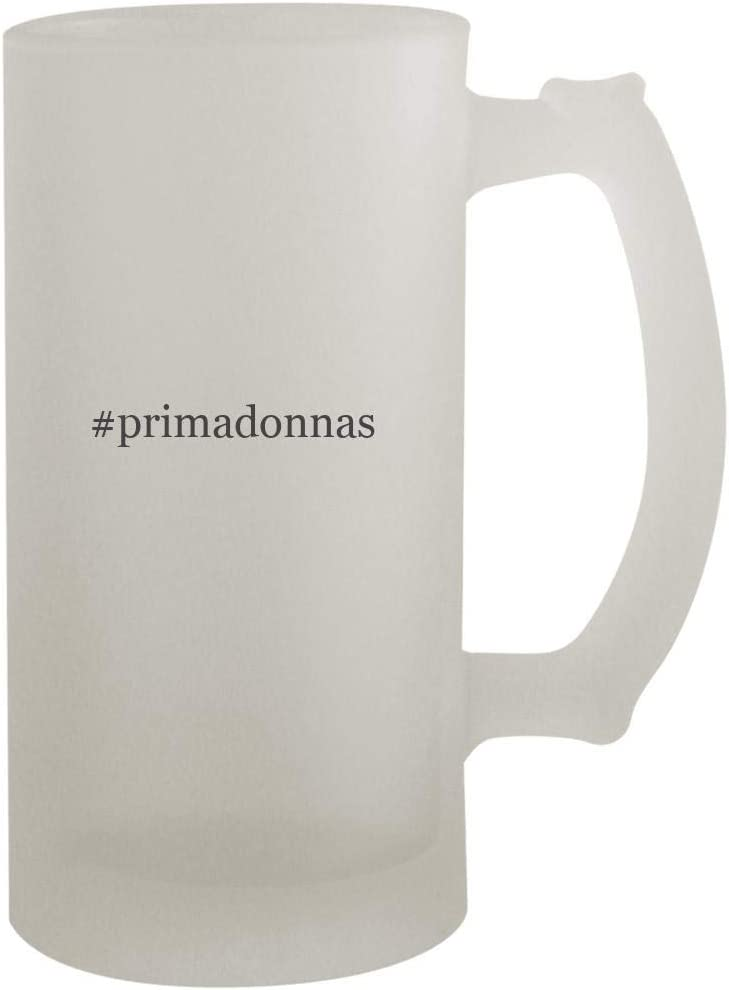 #primadonnas - 16oz Hashtag Frosted Beer Mug Stein, Frosted