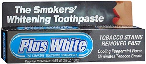 Plus White Smokers Whitening Toothpaste 3 50 Oz  Pack Of 3