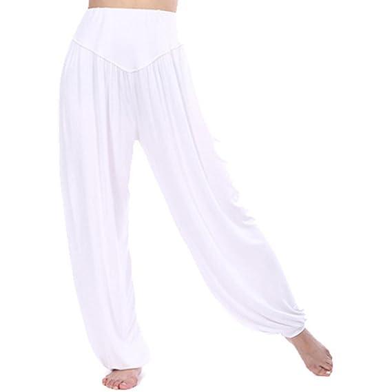 disponibilità nel Regno Unito caf52 0c36c MEISHINE® Donna Modal Elastico Yoga Pantaloni Harem Pantaloni ...