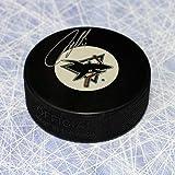 Owen Nolan San Jose Sharks Signed Hockey Puck - Autographed Hockey Pucks