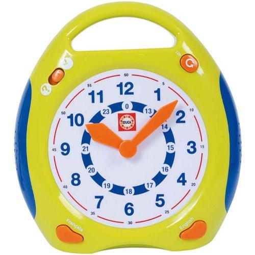 Educa - A1101879 - Jouets d'éveil et 1er âge - Horloge éducative - apprendre à lire l'heure