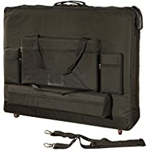 Royal Massage Standard Black Universal Massage Table Carry Case with Wheels