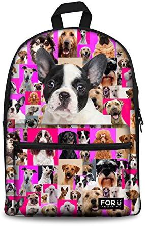 Bigcardesigns 15 French Bulldog Canvas Animal
