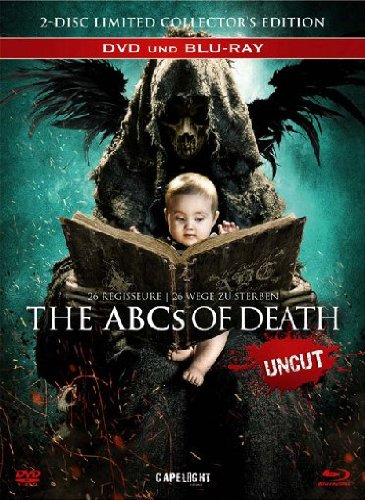 The ABCs of Death - Limited Uncut Edition - 2-Disc - uncut Mediabook - Blu-ray+DVD