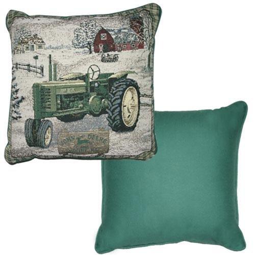 John Deere Tapestry Decorator Pillow