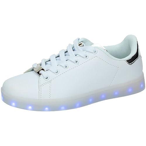 DEMAX 7-P7931A3-12 Tenis con Luces Mujer Deportivos: Amazon.es: Zapatos y complementos