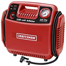 Tire Inflator Air Compressor Portable 6amp Tankless 120volt by Craftsman