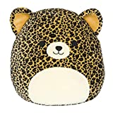 Squishmallow Kellytoy 16 inch Lexi The Cheetah- Super Soft Plush Toy Pillow Pet Animal Pillow Pal Buddy Stuffed Animal Birthday Gift Holiday