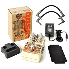 DigiTech Obscura Altered Stereo Delay Pedal with 4 Modes Bundle Includes AC Power Adapter and 2 Path Cables for Guitars              The Obscura Altered Delay from DigiTech allows you to turn your delays upside down and inside...