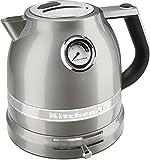 KitchenAid KEK1522SR Pro Line Sugar Pearl Silver 1.5 Liter Electric Kettle